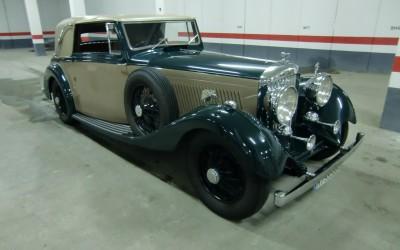 Bentley Sedanca - coches antiguos para bodas