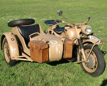 1942 BMW Sidecar - alquiler coches antiguos Valencia