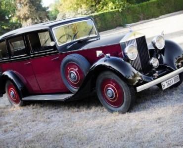 1936 Rolls Royce Limousine- Rolls Royce para bodas