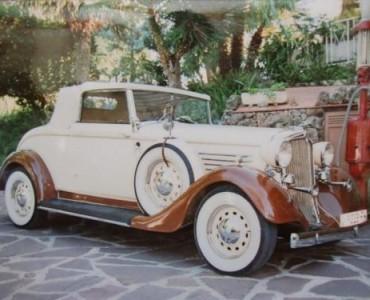 1934 Chrysler - Alquiler coches clásicos Valencia