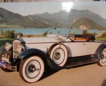 1929 Packard - alquiler coches clásicos valencia