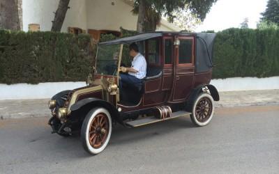 Coches clásicos en Valencia : 1906 Renault
