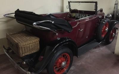 1932 Opel Six Cabrio. Coches nupciales Valencia