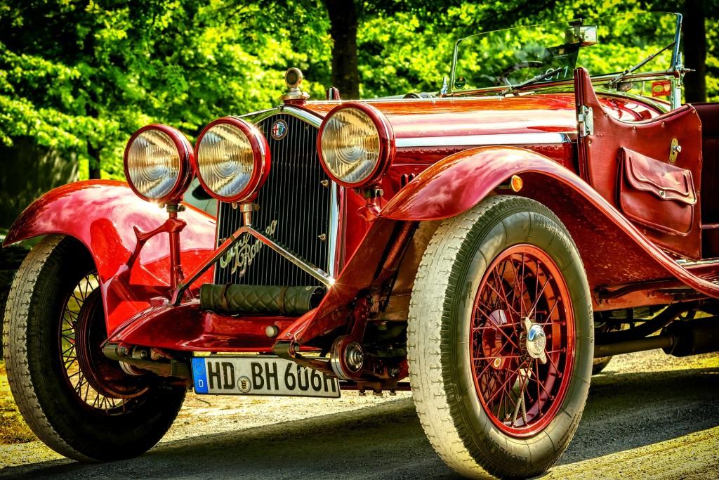 Coches descapotables clásicos para bodas en Events Cars