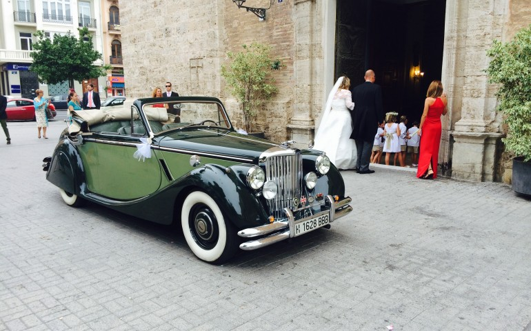 Jaguar MK V en Events Cars