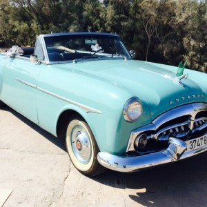 Packard convertible: vehículos clásicos de todas las épocas