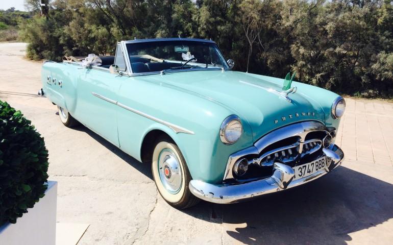 Packard convertible: vehículos antiguos