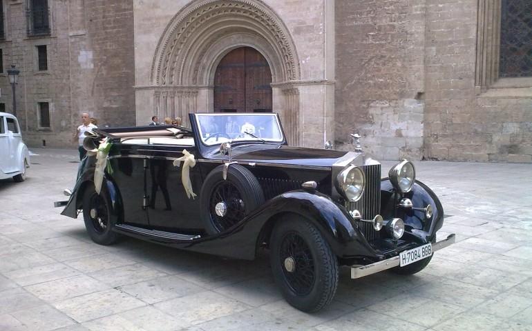 Rolls Royce 1930 para bodas en Events Cars - Coches clásicos para bodas