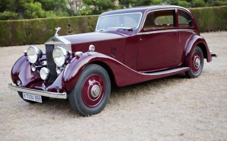 Rolls Royce para bodas 1937 de alquiler en Events Cars