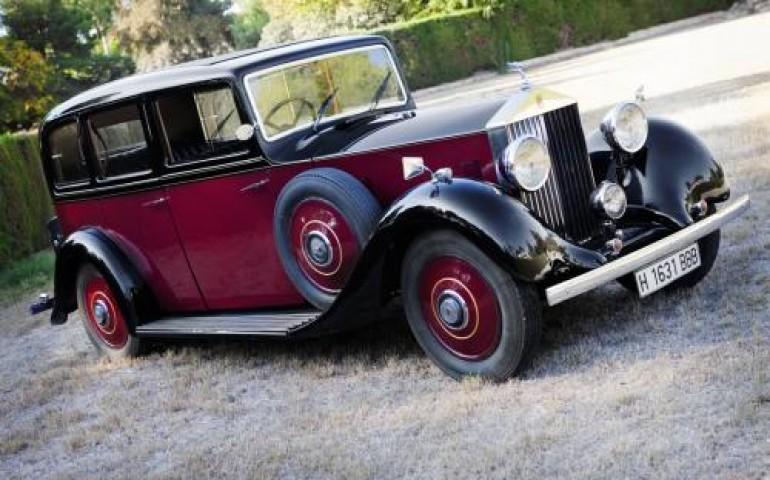 Rolls Royce para bodas Limousine - Alquiler coches clásicos para bodas