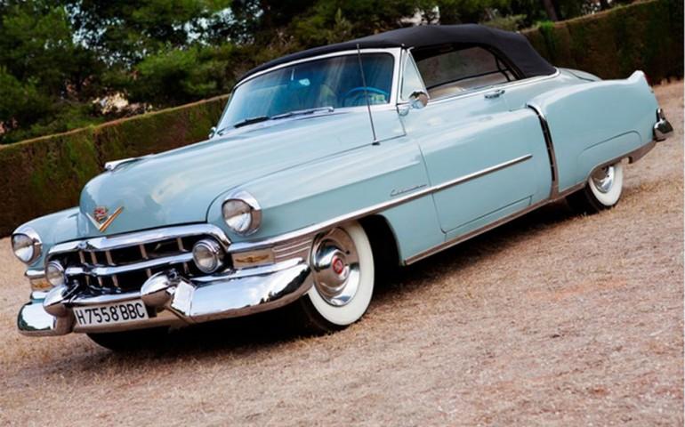 1951 Cadillac Convertible - alquiler coches clásicos Valencia