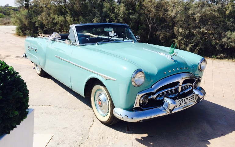 1951 Packard Convertible - Coches nupciales