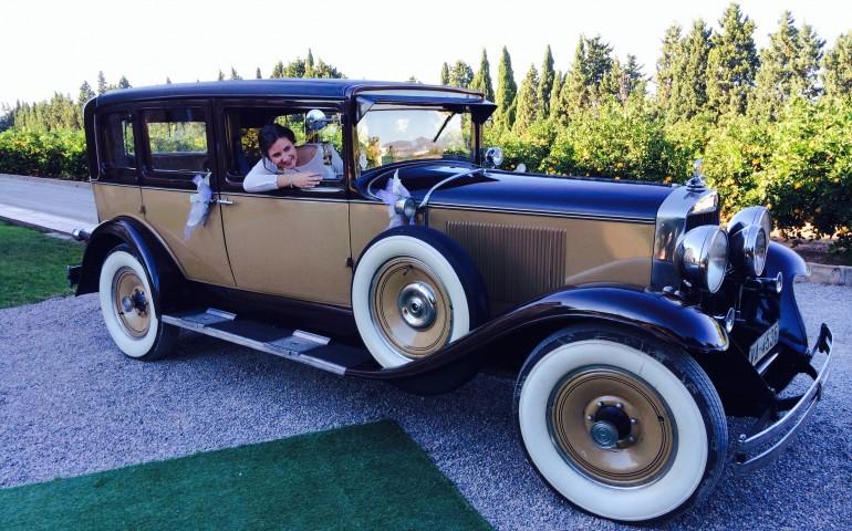 Graham Paige de alquiler coche boda - coches boda Valencia