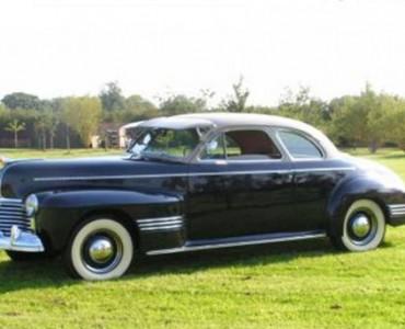 1941 Pontiac - coches de boda antiguos
