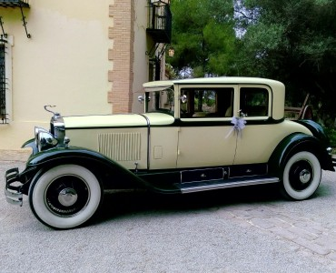 1929 Cadillac Opera - alquiler coches antiguos