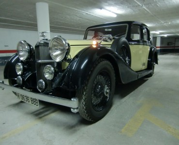 1936 Alvis Speed - Alquiler coches clásicos Valencia