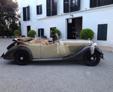 1936 Bentley Tourer - coches antiguos alquiler