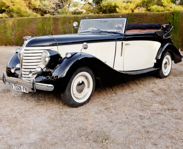 1938 Hudson Eight De Luxe - coches nupciales Valencia Events Cars