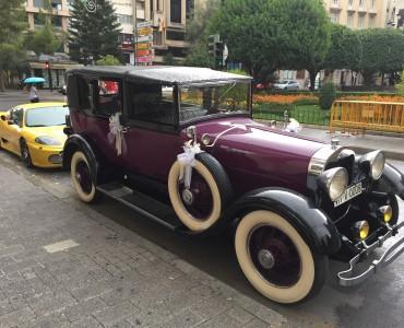 Coches para bodas : 1927 Lincoln Limousine