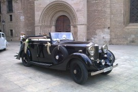 1930 Rolls Royce Convert - Rolls Royce para bodas