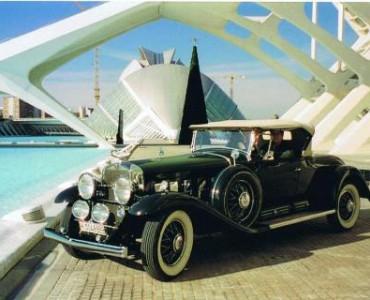 1934 Cadillac V16 - coche clásico boda